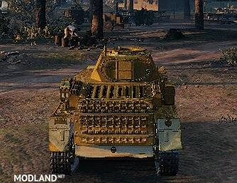 "Pz. I c Skin ""Gold Edition"" 1.0.1.1++ [1.0.1.1], 2 photo"